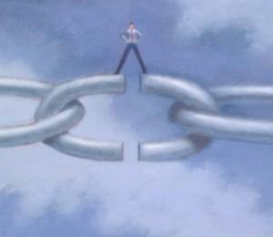 Solo ponernos en acción nos permite vernos a nosotros mismos y romper las ataduras que impiden nuestro avance.