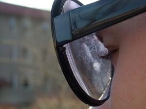 Los cristales están tan cerca, que nos cuesta ver algo que opaque la imagen que percibimos del mundo.