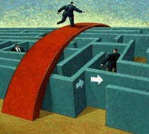 Los obstáculos representan una prueba a nuestra capacidad creativa.