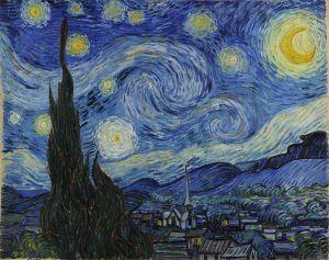 Detrás de cada pincelada o martillazo, aparecen rasgos de belleza. Búscalos, los hay en todas las personas. Starry Night by Vincent Van Gogh