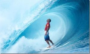 Al igual que las olas, los cambios se pueden surfear. Acércate a Dios él es por largo la mejor de las tabla.