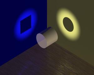 Dependiendo de lugar desde donde iluminemos, veremos formas distintas de solucionar las situaciones.