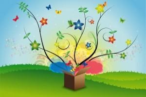 """La caja mágica de donde sale lo que tenemos y queremos está nuestra cabeza y se llama """"Pensamientos"""""""