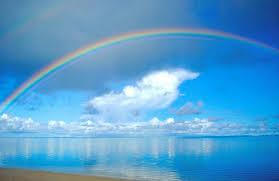 Ver los arcoiris requiere de atención a los momentos y claro, soportar un poco de lluvia.