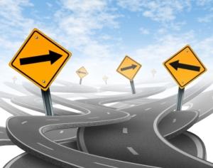 Tomar decisiones sobre la dirección que camino tomar, parte por la claridad en nuestras metas y sistema de valoración.
