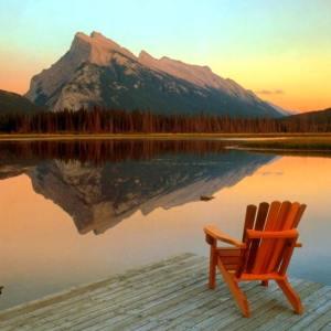 La calma exterior es solo un reflejo de la calma que tenemos en nuestro interior.