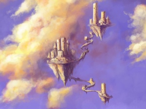No es dejar de construir castillos en el aire, es hacer las baese para que no caigan.