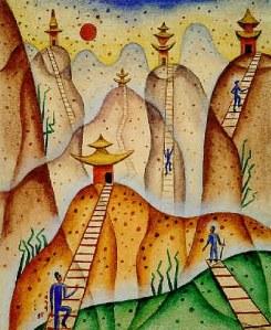 No importa cuan alto creas que has llegado, siempre podrás y tendrás que subir, un nivel más.