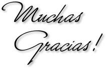 Muchas Gracias 1