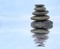 Hallar el equilibrio es cuestión de centrar lo pensamientos, de calmarlos.