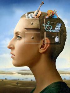 La mejor manera de desocupar espacio en nuestra mente es poniendo orden a los recuerdos a través de la atención y la consciencia.