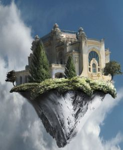 """""""¿Has estado construyendo castillos en el aire? Bien porque es ahí donde deben estar, ve a ahora y construye las bases"""" – Henry David Thorough"""
