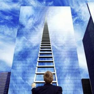 La única manera de subir es subiendo.