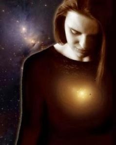 Sé tú mismo y conectándote con el universo.