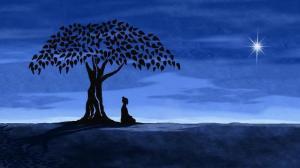 La plenitud se refleja como la verdadera paz interior.